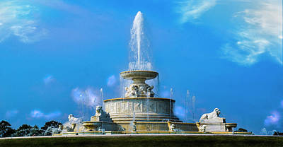 Photograph - The James Scott Memorial Fountain by Michael Osinski
