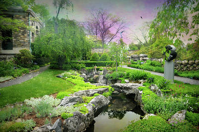 Photograph - The Japanese Water Garden by Diana Angstadt