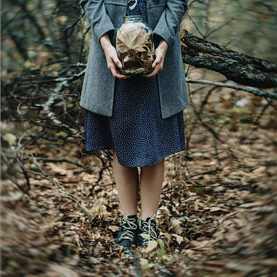 Photograph - The Jar Of Memories. Forgetting Series by Inna Mosina