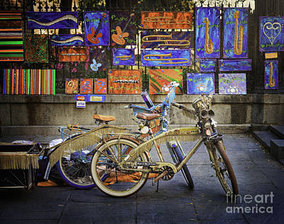 Photograph - The Jazz Bicycles Of New Orleans by Craig J Satterlee