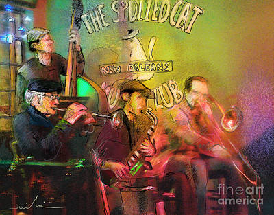 The Jazz Vipers In New Orleans 02 Art Print