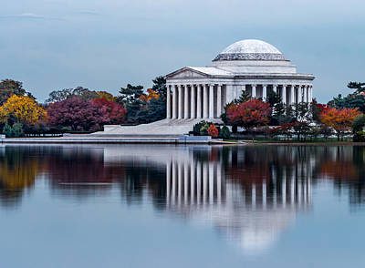 Photograph - The Jefferson In Baby Blue by Ed Clark