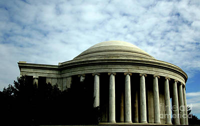 Photograph - The Jefferson Memorial by April Sims