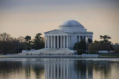 Jefferson Memorial Digital Art - The Jefferson Memorial In April by Bill Cannon