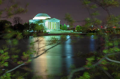 Photograph - The Jefferson Memorial by Jonathan Nguyen