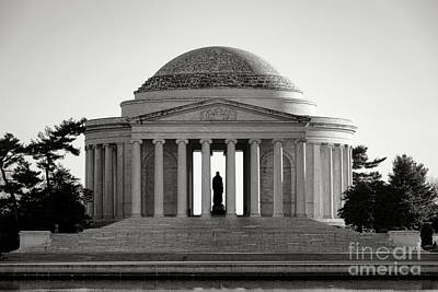 Jefferson Memorial Wall Art - Photograph - The Jefferson Memorial  by Olivier Le Queinec
