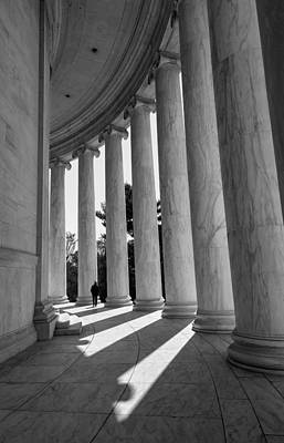 Photograph - The Jefferson Memorial Structures by Jonathan Nguyen