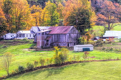 Photograph - The Jenne Farm Autumn by Dan Sproul