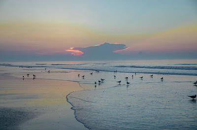 Photograph - The Jersey Shore - Wildwood by Bill Cannon