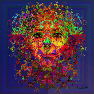 Jester Digital Art - The Jester by Diane Parnell