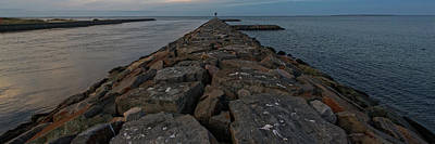 Photograph - The Jetty by Steve Gravano