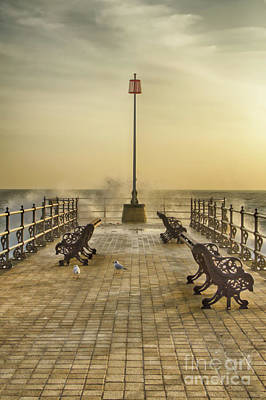 Photograph - The Jetty Swanage by Linsey Williams
