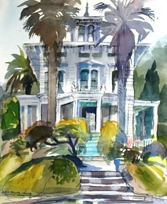 The John Muir House Art Print by Naomi E Heid
