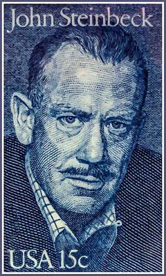 Approval Painting - The John Steinbeck by Lanjee Chee