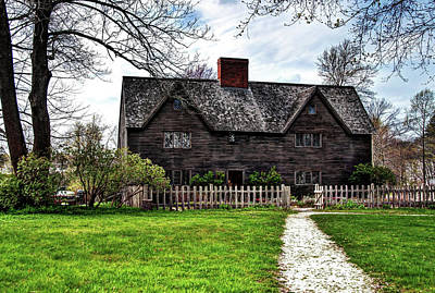 Photograph - The John Whipple House In Ipswich by Wayne Marshall Chase