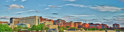 Art Print featuring the photograph The Johns Hopkins Hospital Complex by Mark Dodd