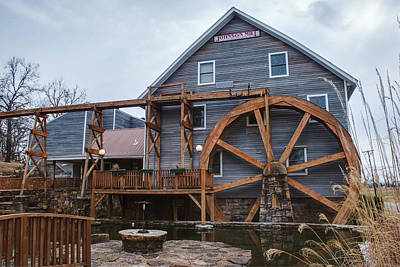 Photograph - The Johnson Mill - Near Fayetteville Arkansas by Gregory Ballos