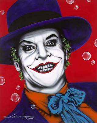 The Joker Art Print by Alicia Hayes