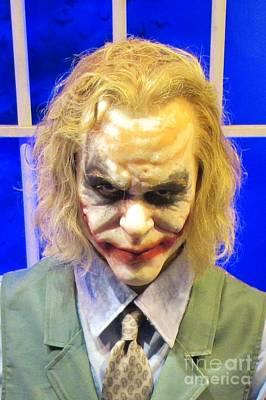 Heath Ledger Photograph - The Joker by John Malone
