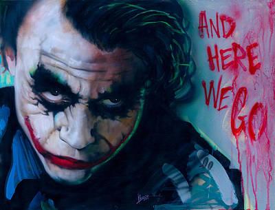 The Joker Original by Luis Navarro