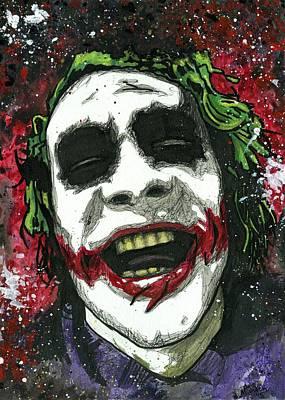 The Joker Original by Nate Michaels