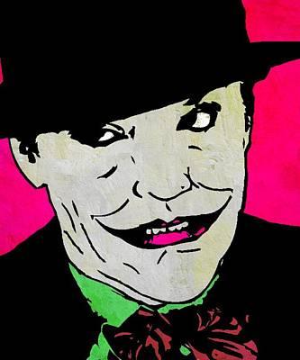 Jack Nicholson Mixed Media - The Joker by Otis Porritt