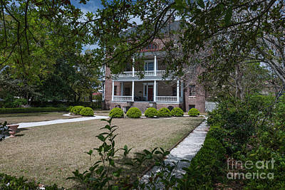 Photograph - The Joseph Manigault House by Dale Powell