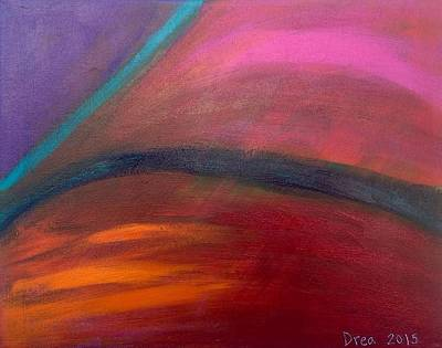 Painting - The Journey 2015 by Drea Jensen