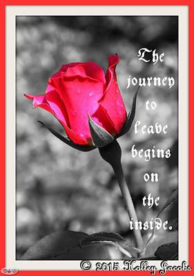 Digital Art - The Journey Begins by Holley Jacobs