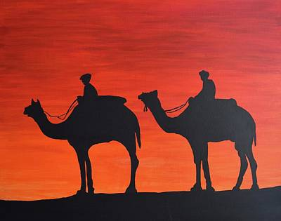 Painting - The Journey Continues by Surbhi Grover