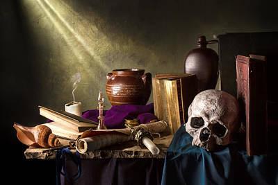 Skull Photograph - The Journey by Jon Wild