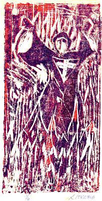 The Journey Of St. John Art Print by Seth Weaver