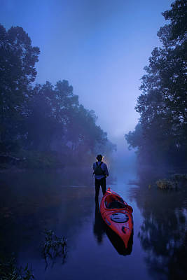 Photograph - The Journey Starts Before Dawn by Robert Charity