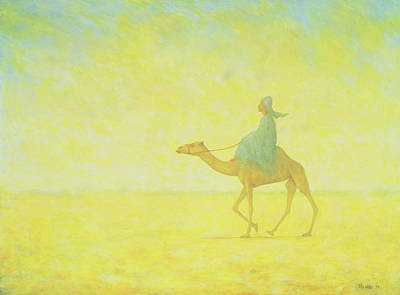 Desert Painting - The Journey by Tilly Willis