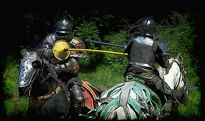 Photograph - The Joust by Lori Seaman