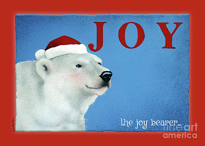 Painting - The Joy Bearer... by Will Bullas