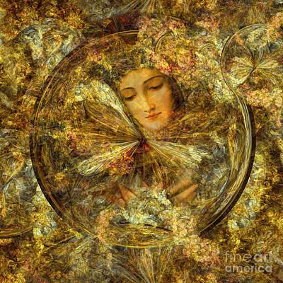 Mother Of Jesus Digital Art - The Joy Of All Who Sorrow  by Olga Hamilton