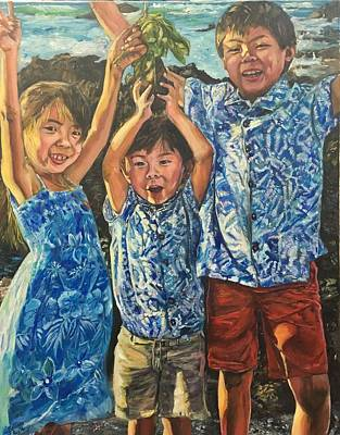 Painting - The Joy Of Childhood by Belinda Low