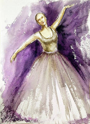 Painting - The Joy Of Dancing by Asha Sudhaker Shenoy