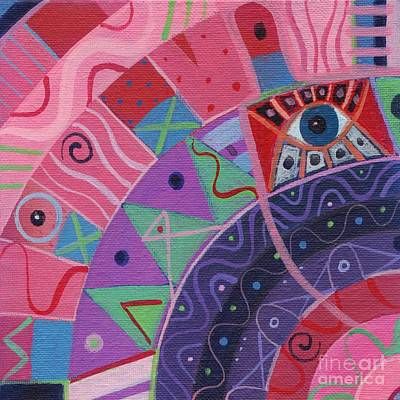Painting - The Joy Of Design X X X V I I by Helena Tiainen