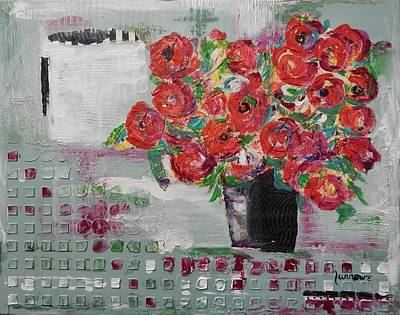 Painting - the JOY OF RECEIVING by Sue Furrow