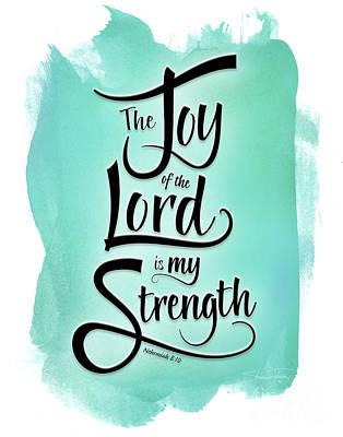 Mixed Media - The Joy Of The Lord by Shevon Johnson