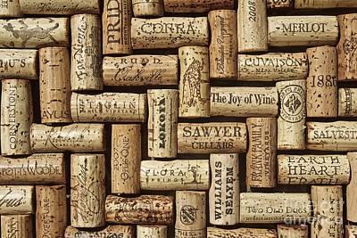 The Joy Of Wines Art Print by Anthony Jones