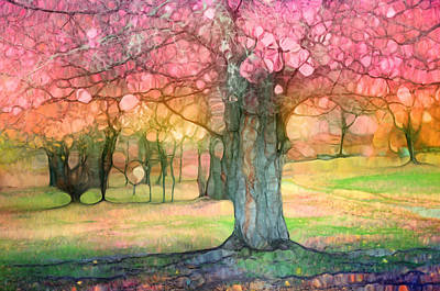 Photograph - The Joyous Trees by Tara Turner