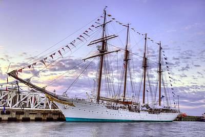 Sebastian Florida Photograph - The Juan Sebastian De Elcano by JC Findley