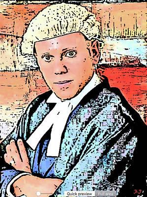 Digital Art - The Judge by Jan Steadman-Jackson