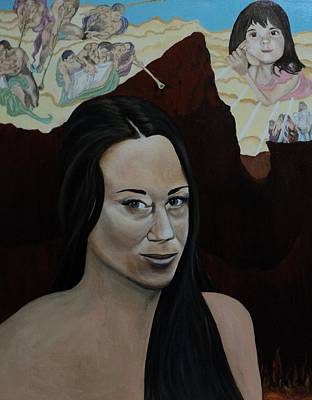 The Judgment Of Casey Anthony The Sacrifice Of Caylee Anthony Art Print