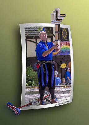 Jugglers Digital Art - The Juggler by Brian Wallace