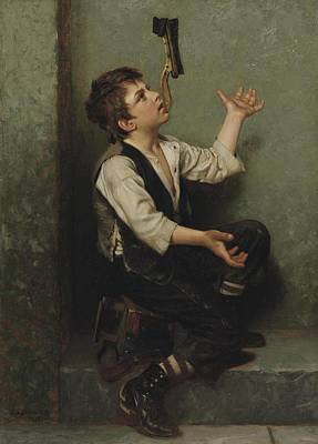 Juggler Painting - The Juggler by John George