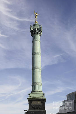 Photograph - The July Column In Paris, France by Patricia Hofmeester